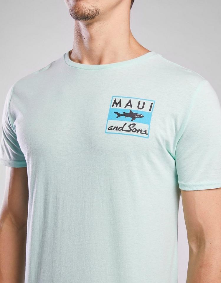 MAUI AND SONS เสื้อแขนสั้น Classic Shark