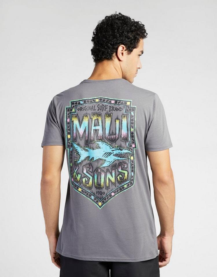 MAUI AND SONS เสื้ิอแขนสั้น Iconic Charcoal