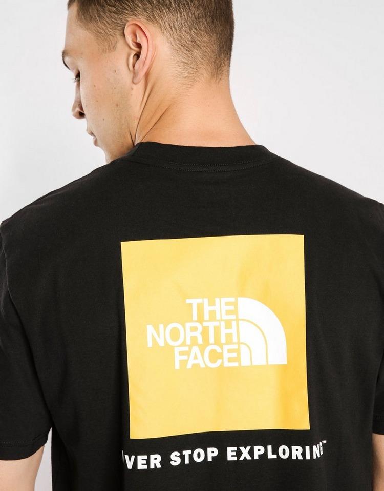 The North Face Yellow Box T-Shirt