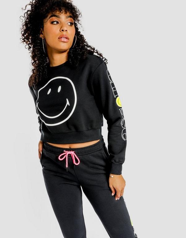 Ellesse Smiley Crop Sweatshirt