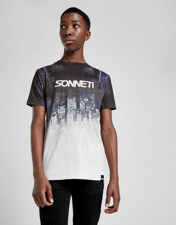 Sonneti City Fade เสื้อยืดเด็กโต
