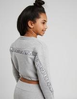 SONNETI Girl's Naomi Ruched Crew Sweatshirt Junior