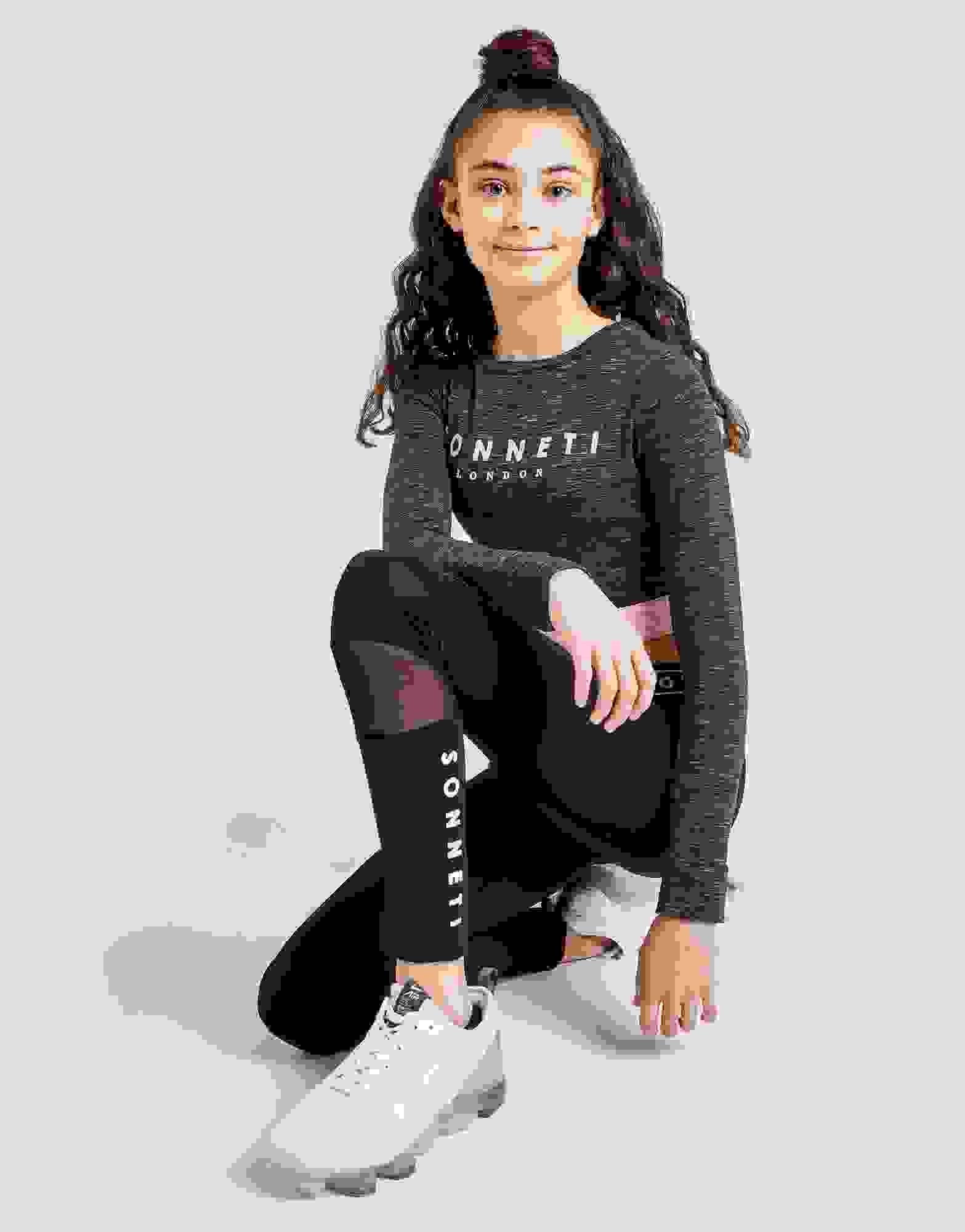 New Sonneti Girls' Daisy Mesh Leggings