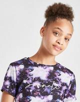 Sonneti Girl's Galaxy Crop T-Shirt Junior