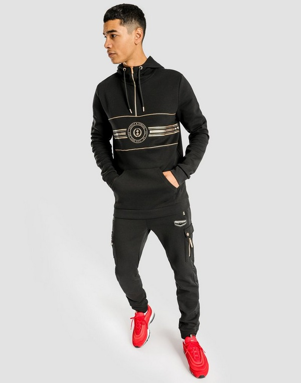 Buy Black Supply & Demand Carbon 14 Zip Hoodie | JD Sports
