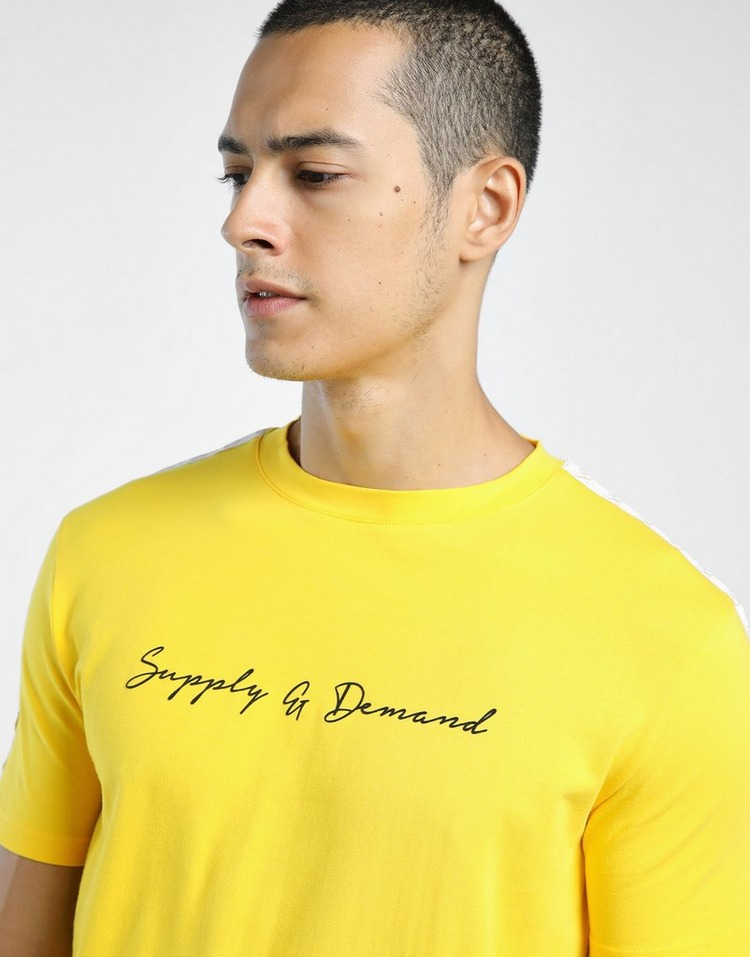 Supply & Demand เสื้อแขนสั้น SCRIPT
