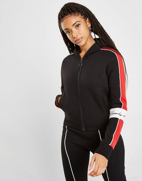 Supply & Demand เสื้อฮู้ดดี้ Mya Block Zip
