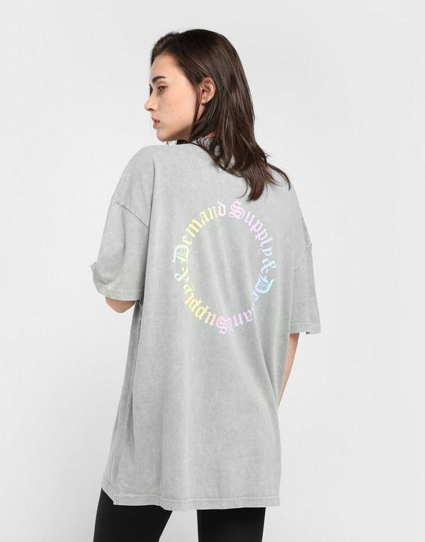 Supply & Demand เสื้อยืดผู้หญิง Ombre Graphic