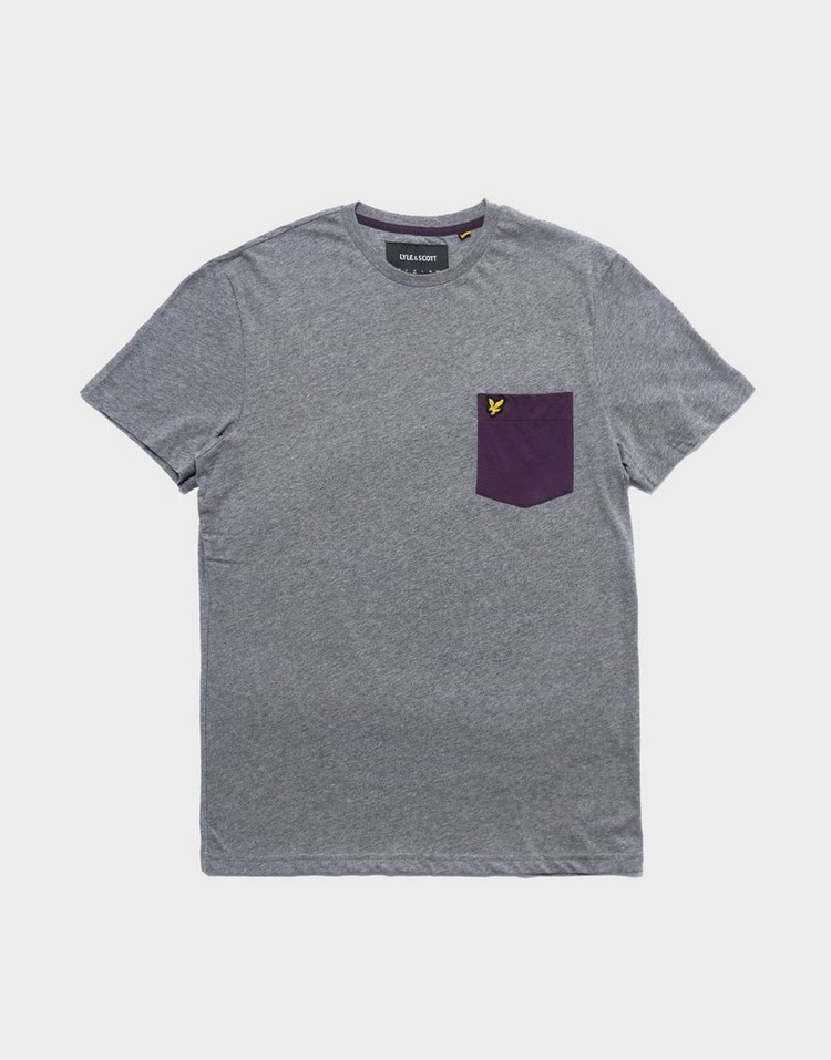 Lyle & Scott เสื้อยืด LTD CONTRAST POCKET