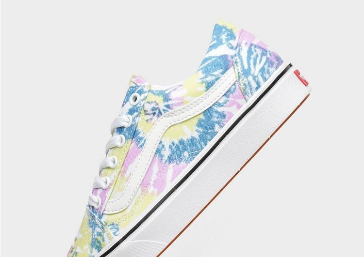 Vans รองเท้าผู้หญิง UA Comfycush Old Skool Tie Dye