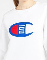 Champion เสื้อแขนยาวผู้หญิง Champion Crew Sweatshirt