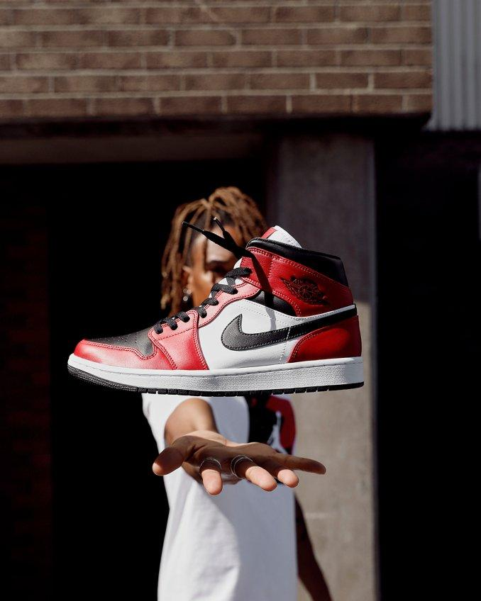 Air Jordan 1 vermelhas