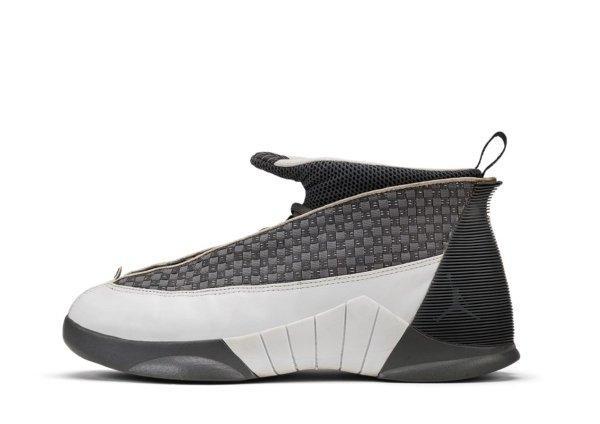 Air Jordan XV Flint Grey / White