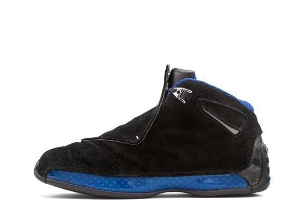Air Jordan XVIII Black / Sport Royal