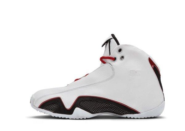 Air Jordan XXI White / Varsity Red – Metallic Silver