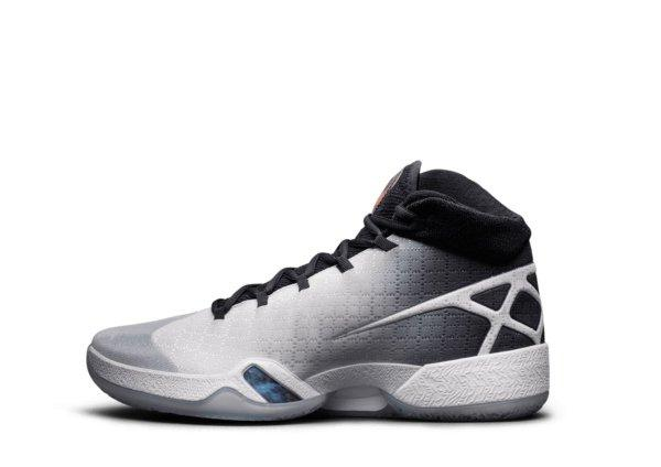 Air Jordan XXX White / Black Wolf Grey