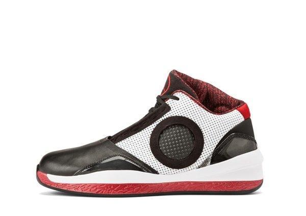 Air Jordan 2010 Black / Varsity Red - White