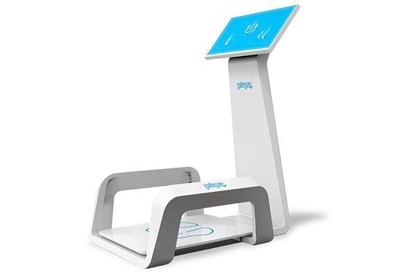 Loopanalyse SafeSize voetscanner