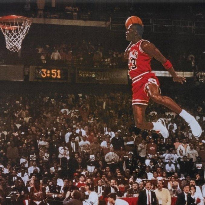 Air Jordan III on feet