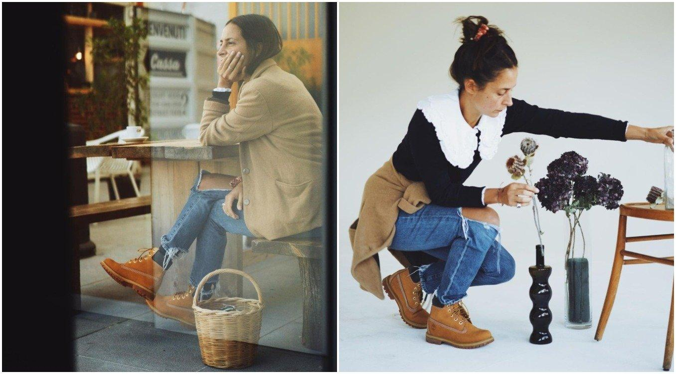 look timberland influencer michela meni