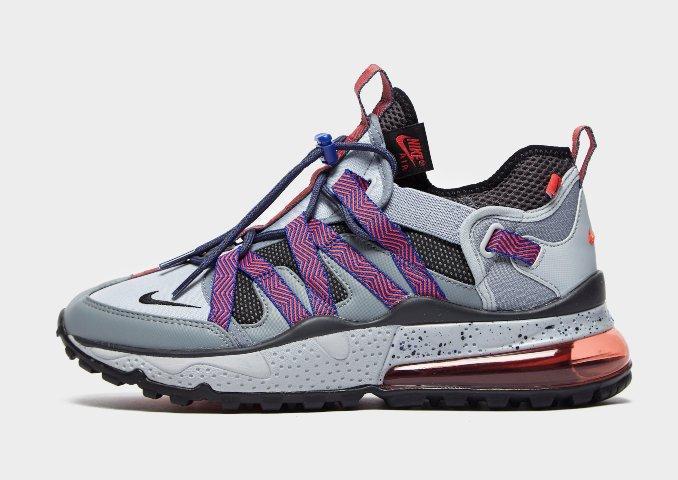 Nike Air Max 270 Bowfin en gris y morado
