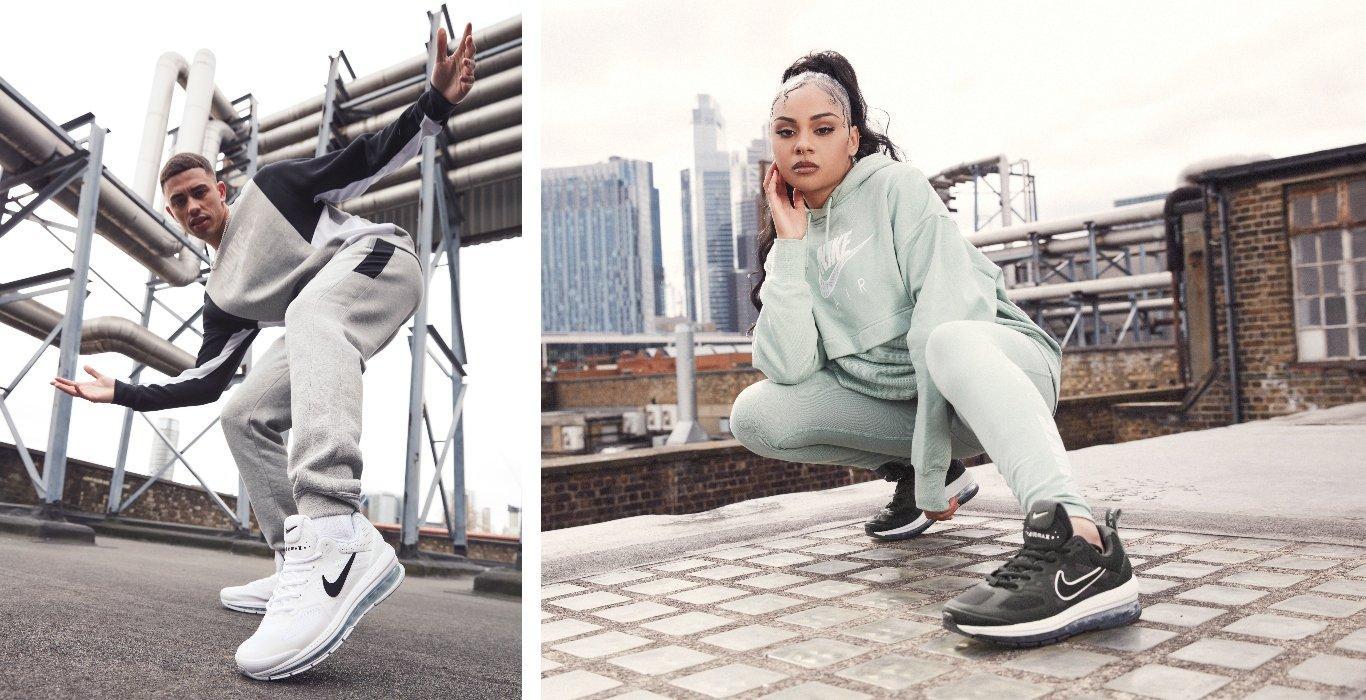 Nike Air Max Genome on feet