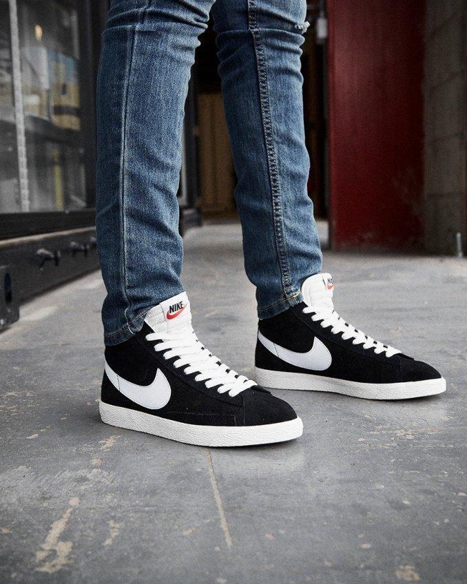 Nike Blazer pretas