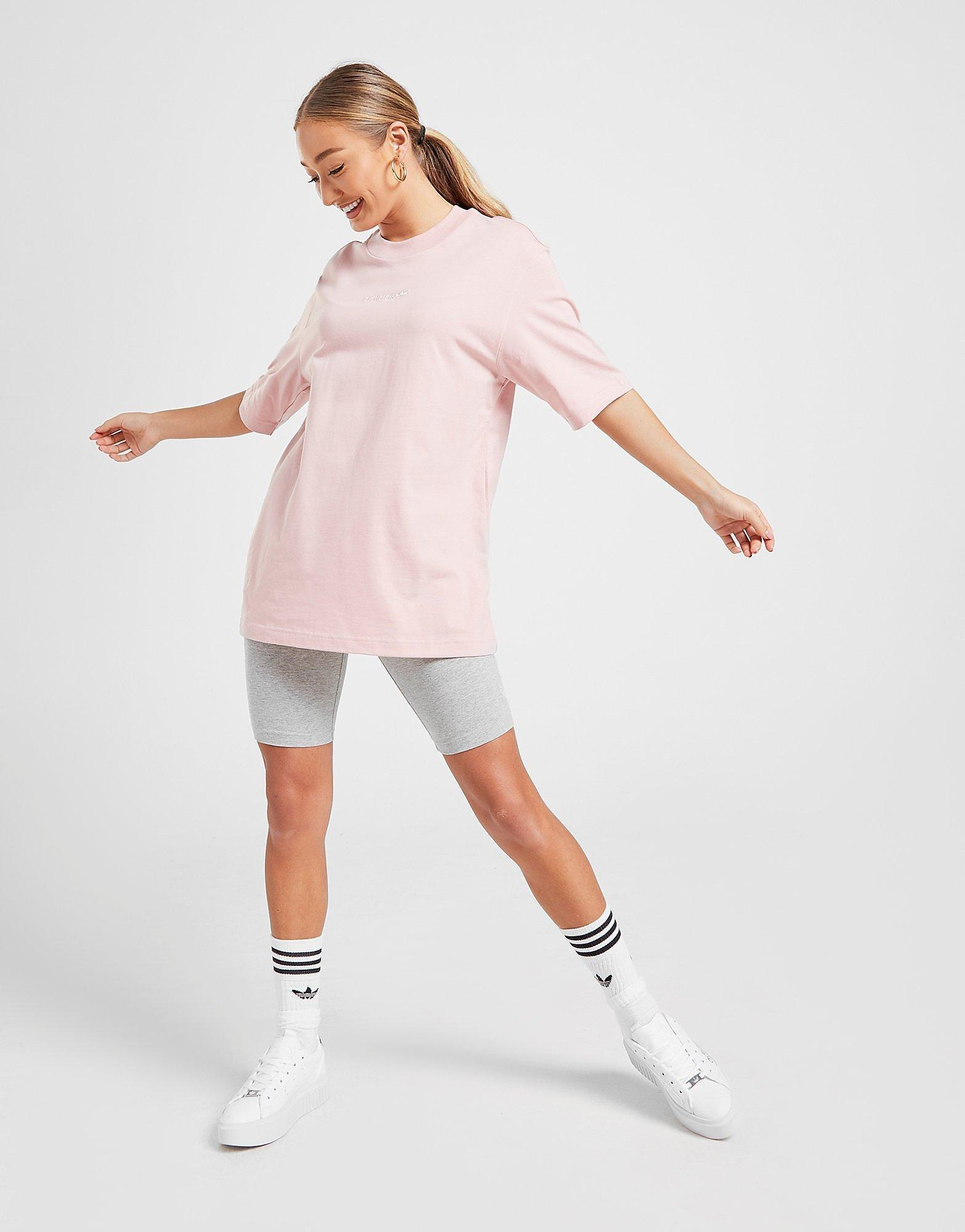 t-shirt pastel oversize