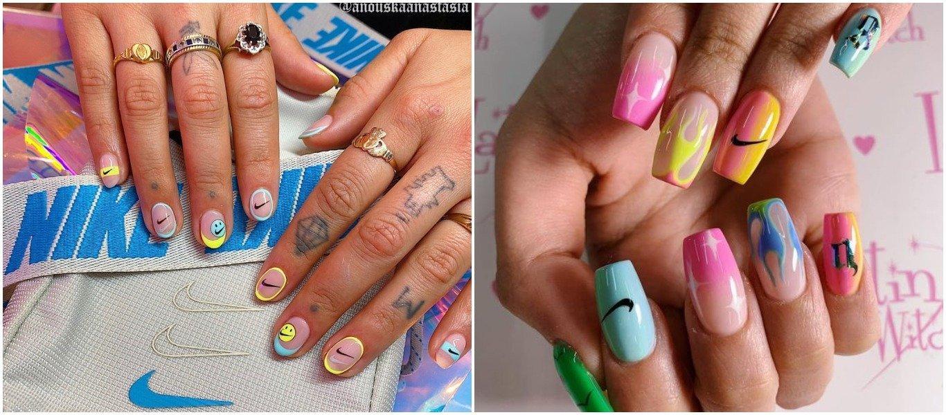 diseño de uñas con técnica Nail Art
