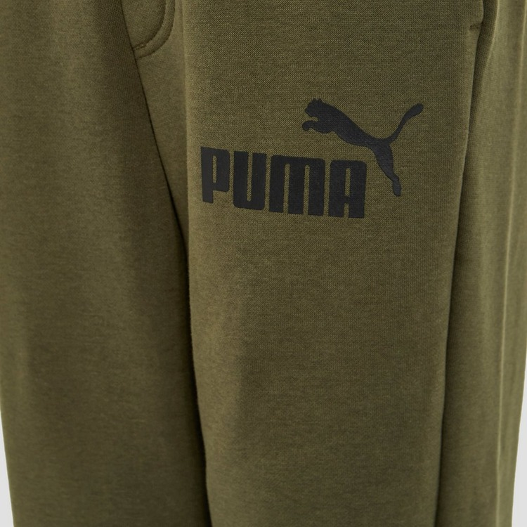 PUMA CLOSED JOGGINGBROEK GROEN KINDEREN