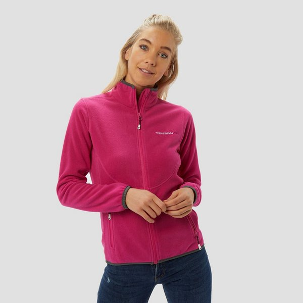TENSON MALIN FLEECE VEST ROZE DAMES