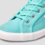 ELLESSE CAMILLO LOW SNEAKERS GROEN/WIT DAMES