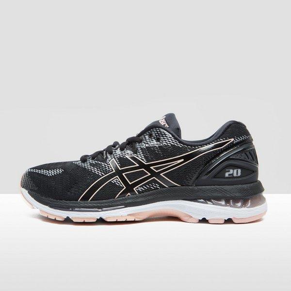 asics dames sneakers zwart