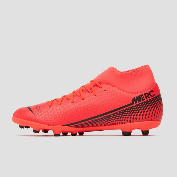 NIKE MERCURIAL SUPERFLY 7 CLUB DF MG VOETBALSCHOENEN ROOD