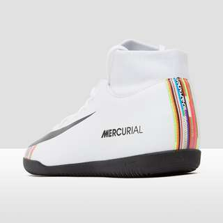 NIKE MERCURIAL SUPERFLYX 6 CLUB DF IC VOETBALSCHOENEN WIT