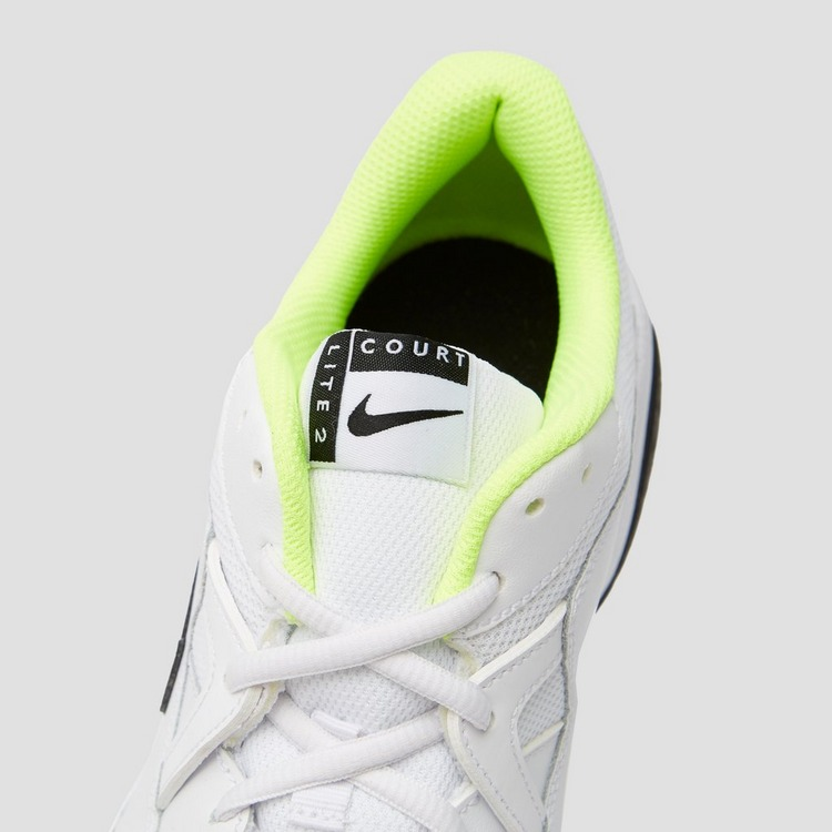 NIKE COURT LITE 2 TENNISSCHOENEN WIT HEREN