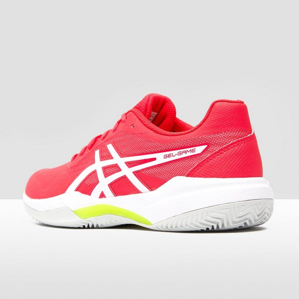 ASICS GEL-GAME 7 CLAY TENNISSCHOENEN ROZE/WIT DAMES
