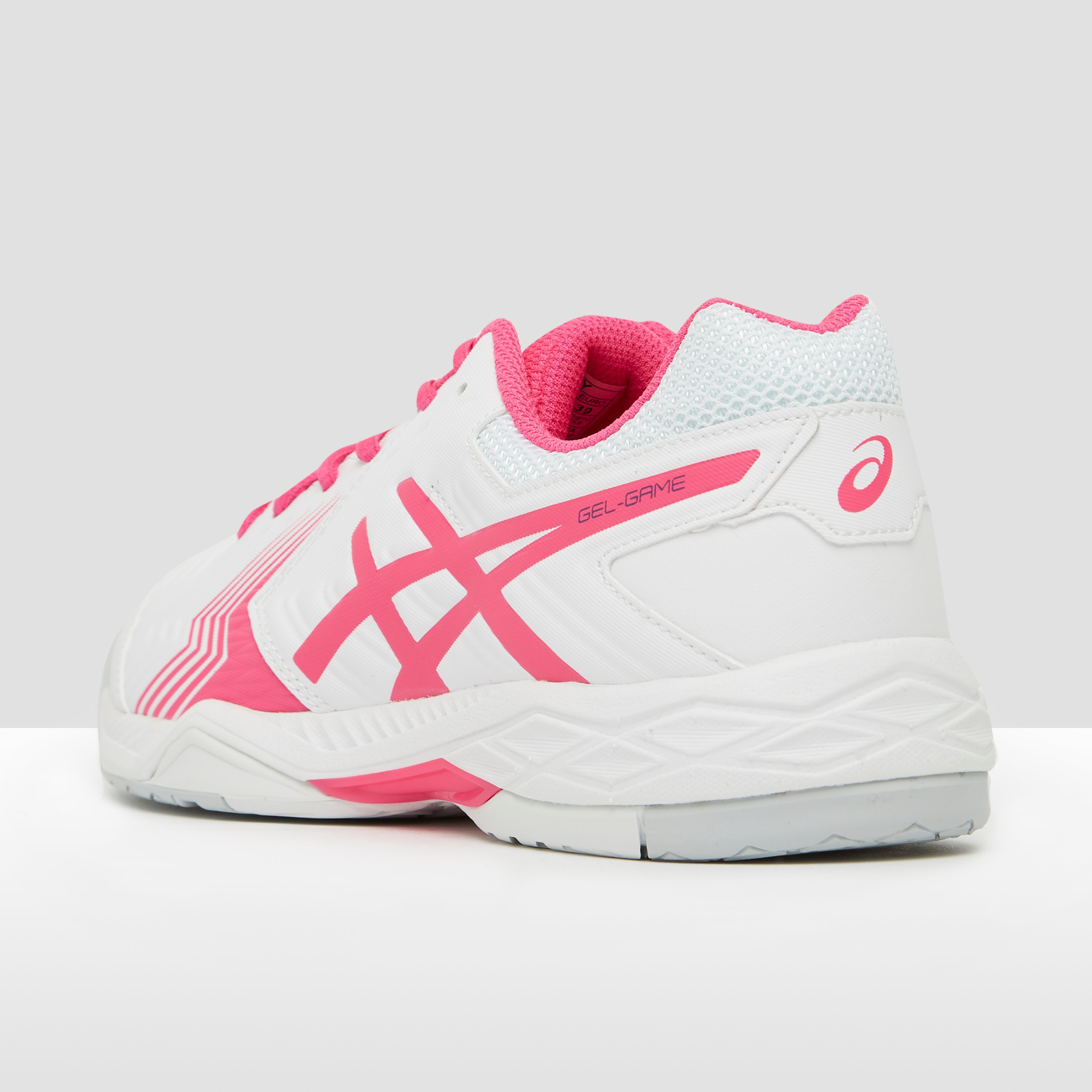 ASICS GEL-GAME 6 TENNISSCHOENEN WIT/ROZE DAMES