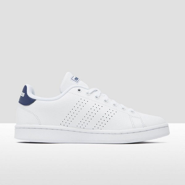 ADIDAS ADVANTAGE SNEAKERS WIT/BLAUW | Perrysport