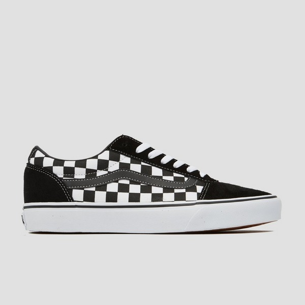 VANS WARD SNEAKERS ZWART/WIT HEREN