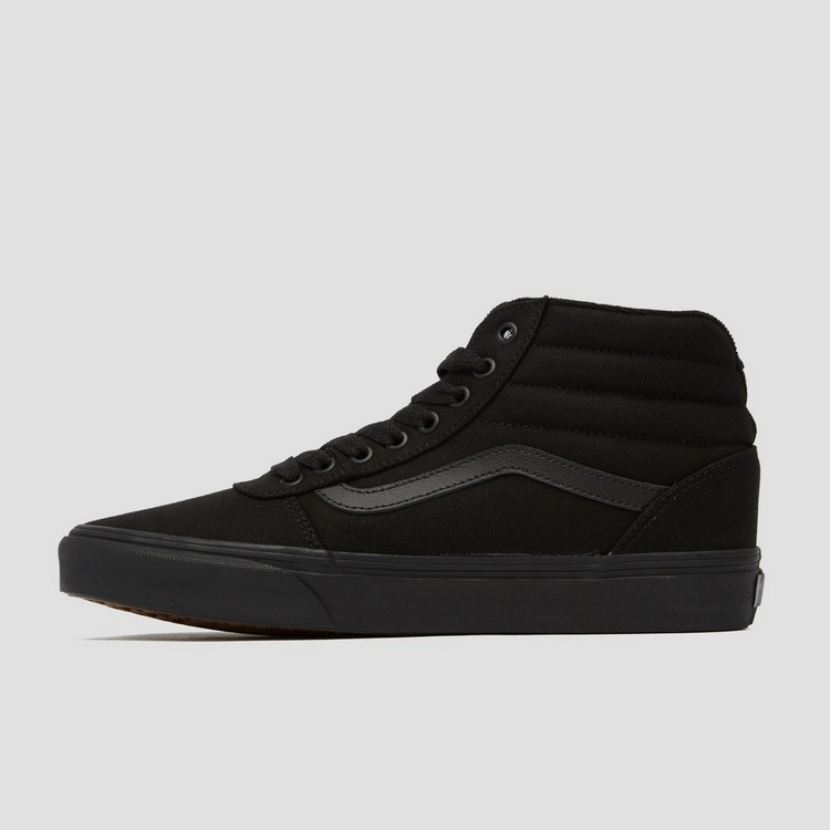 VANS WARD HI SNEAKERS ZWART HEREN