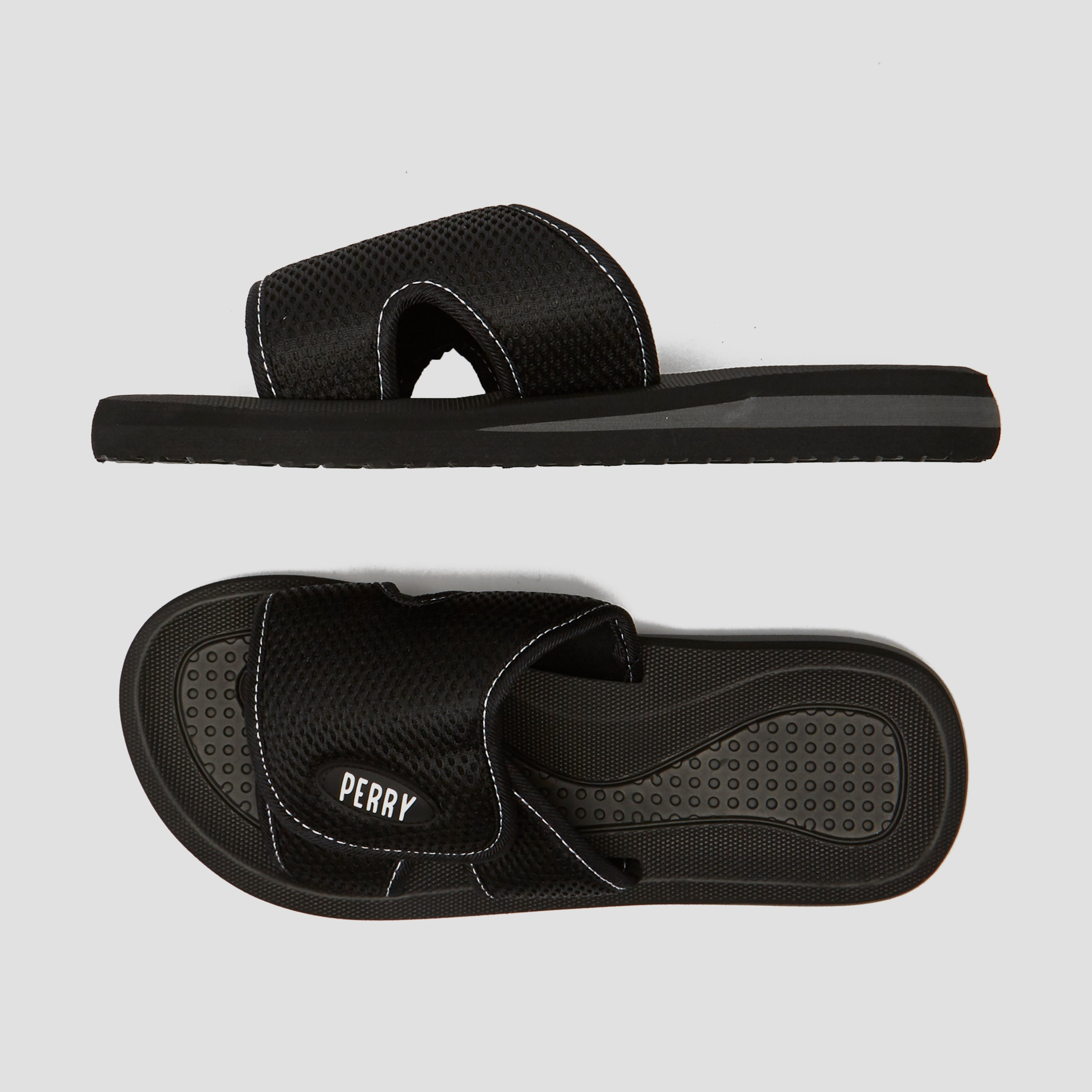 adidas cloudfoam adilette slides heren groen
