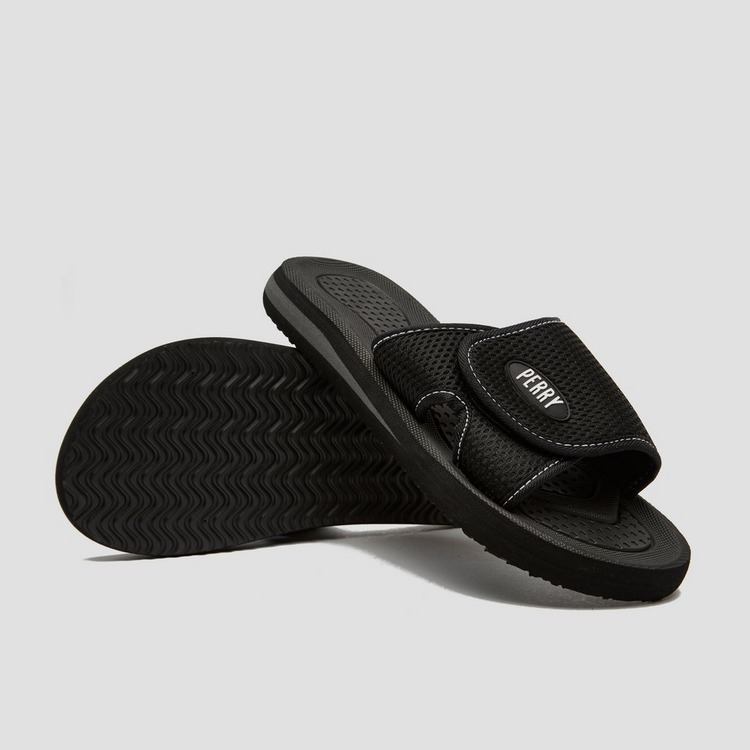 PERRY CADIZ SLIPPERS ZWART HEREN