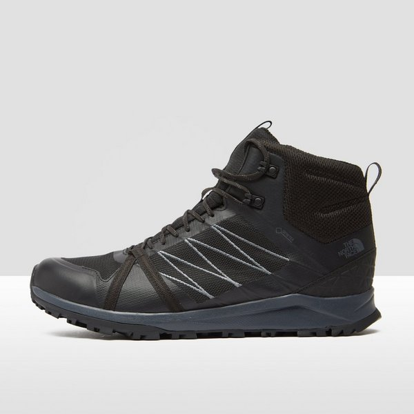 THE NORTH FACE LITEWAVE FASTPACK II MID WANDELSCHOENEN ZWART HEREN