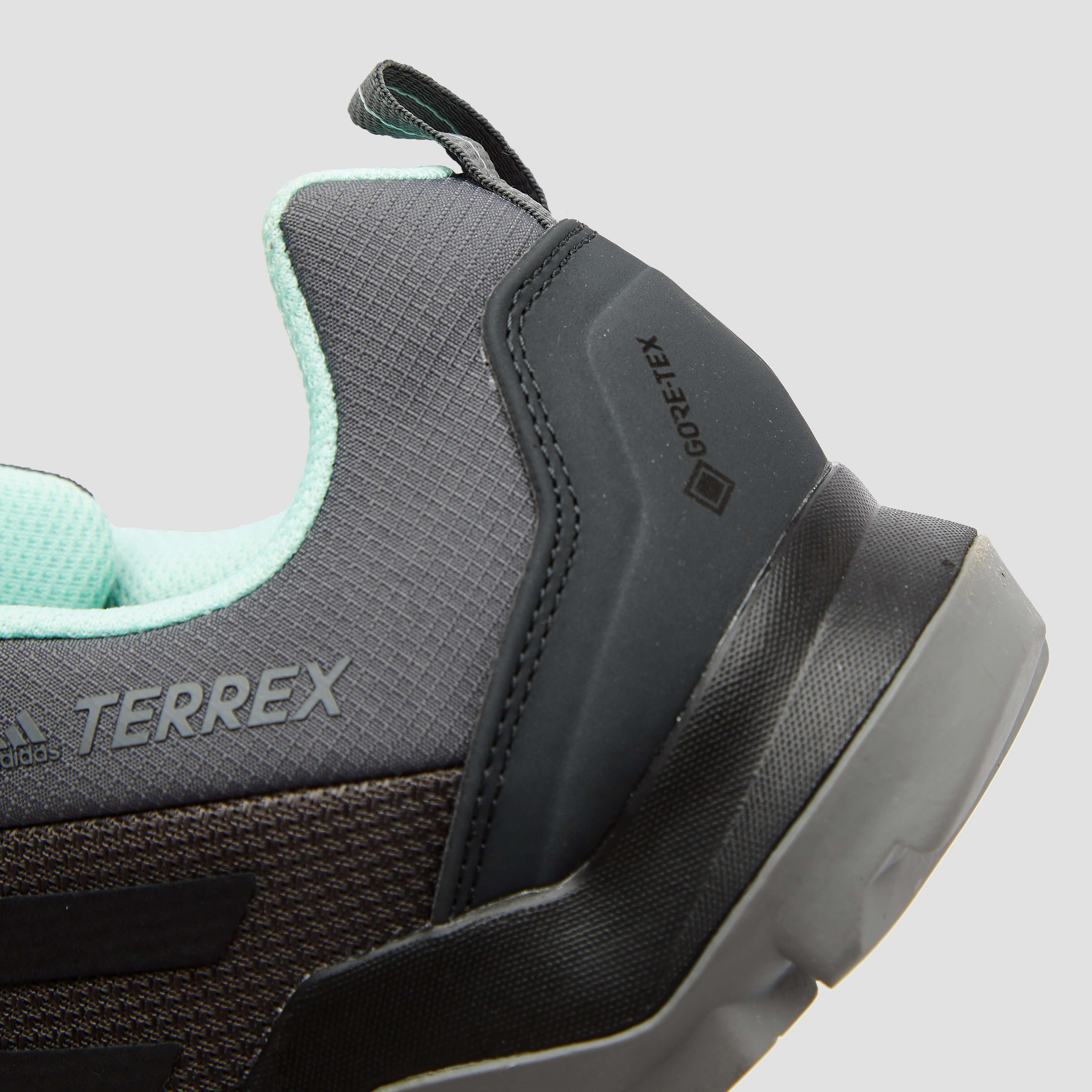 ADIDAS TERREX AX3 GTX WANDELSCHOENEN GRIJS/GROEN DAMES