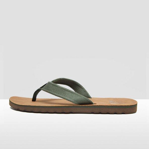 reef voyage tx slippers bruin/groen heren | perrysport