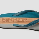 SINNER CAPITOLA SLIPPERS BLAUW HEREN