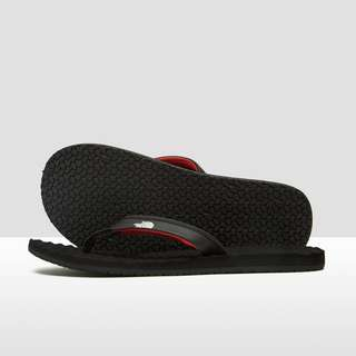 THE NORTH FACE BASE CAMP MINI SLIPPERS ZWART/ROOD DAMES