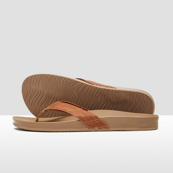 REEF CUSHION BOUNCE SUNNY SLIPPERS BRUIN DAMES