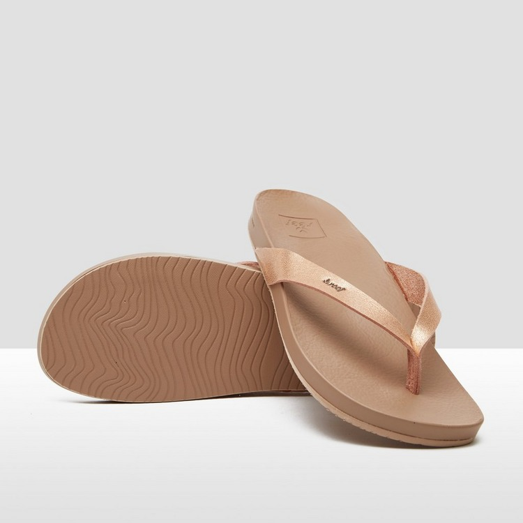 REEF CUSHION BOUNCE COURT SLIPPERS ROZE DAMES